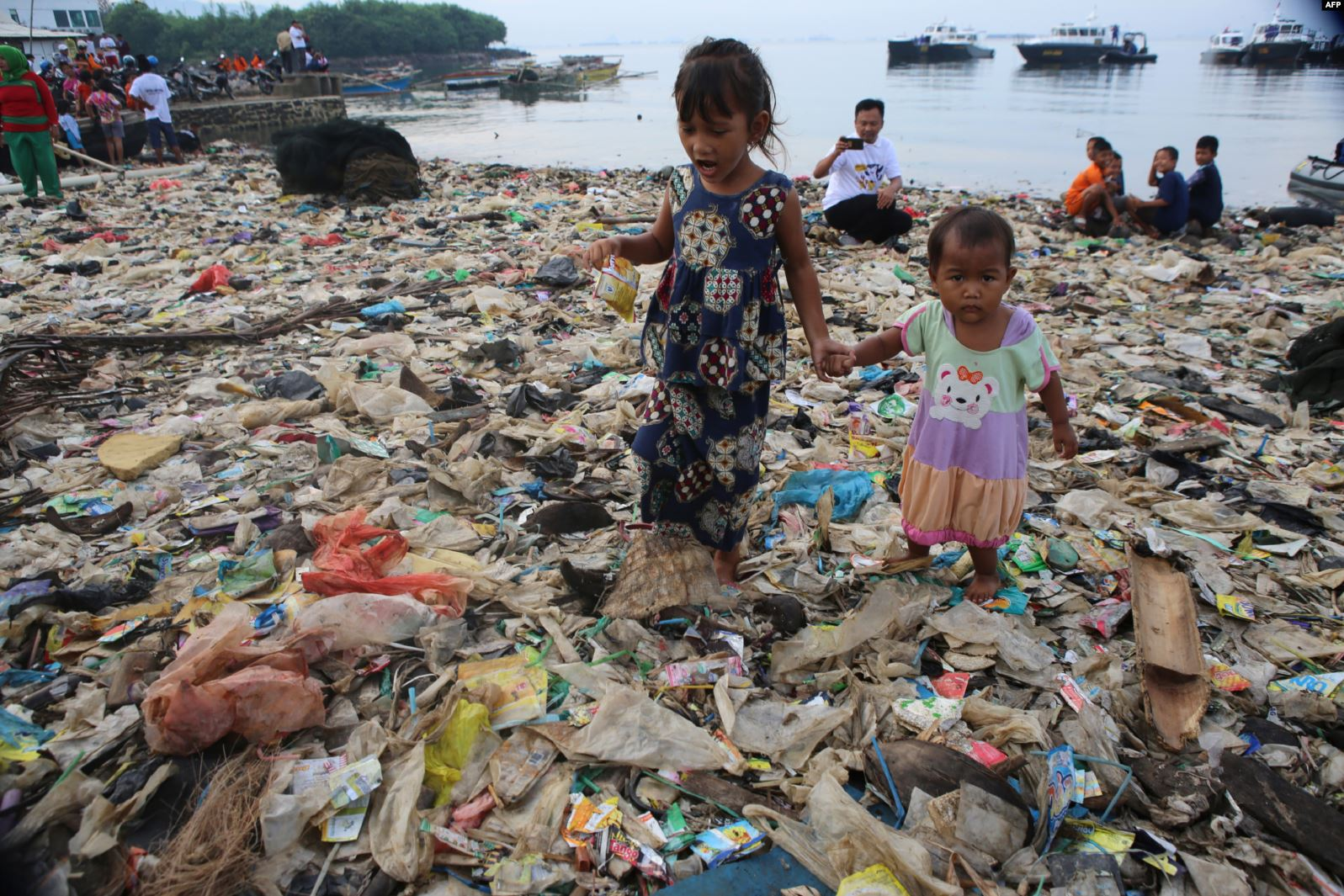 pollution plastique